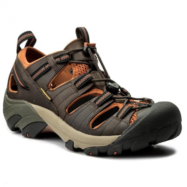 Sandále KEEN - Arroyo II 1008419  Black Olive/Bombay Brown