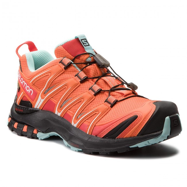 6b756e313 Topánky SALOMON - Xa Pro 3D Gtx W GORE-TEX 400915 20 V0  Nasturtium/Black/Canal Blue - Trekingová obuv - Bežecká obuv - Športové -  Dámske - eobuv.sk