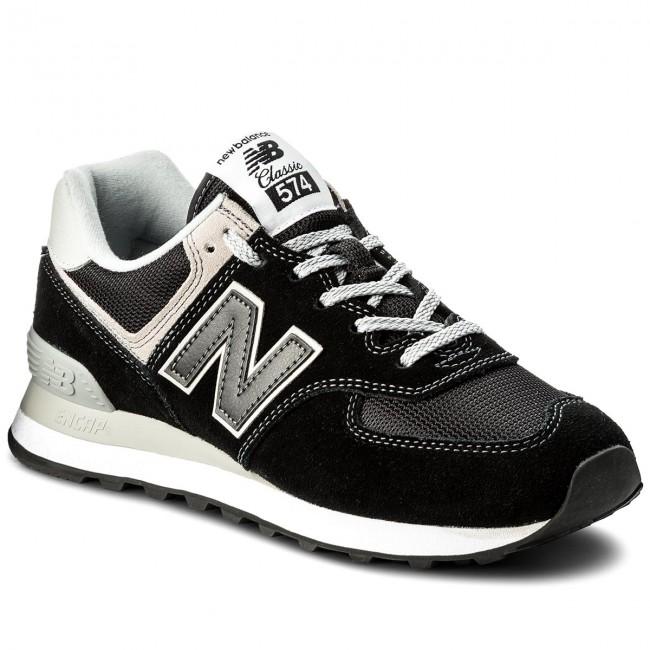 Sneakersy NEW BALANCE - ML574EGK Čierna Sivá