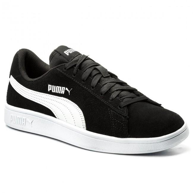 Sneakersy PUMA - Smash V2 364989 01 Black Puma/White Puma/Silver