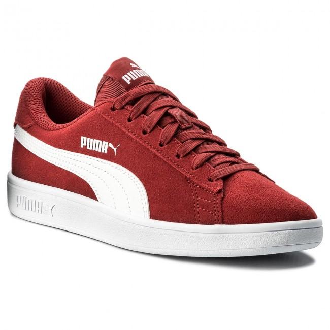 b2aae10954e Sneakersy PUMA - Smash V2 364989 06 Red Dahlia/Puma White ...