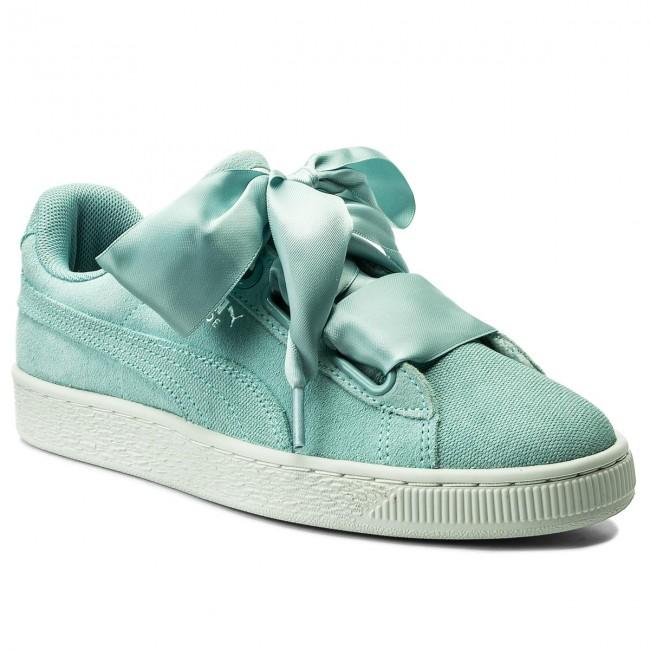 Sneakersy PUMA - Suede Heart Pebble Wn's 365210 03 Aquifer/Blue Flower