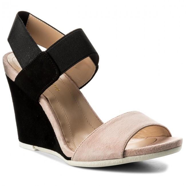 Sandále SOLO FEMME 53106 42 H18020 07 00 Jasny RóżCzarny