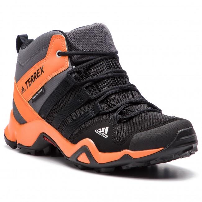 554d0e244 Topánky adidas - Terrex Ax2r Mid Cp K AC7977 Cblack/Cblack/Hireor ...