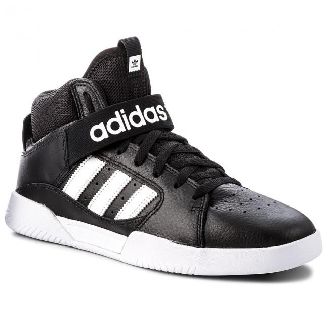 65084364cc29a Topánky adidas - Vrx Mid B41479 Cblack/Ftwwht/Ftwwht - Sneakersy ...
