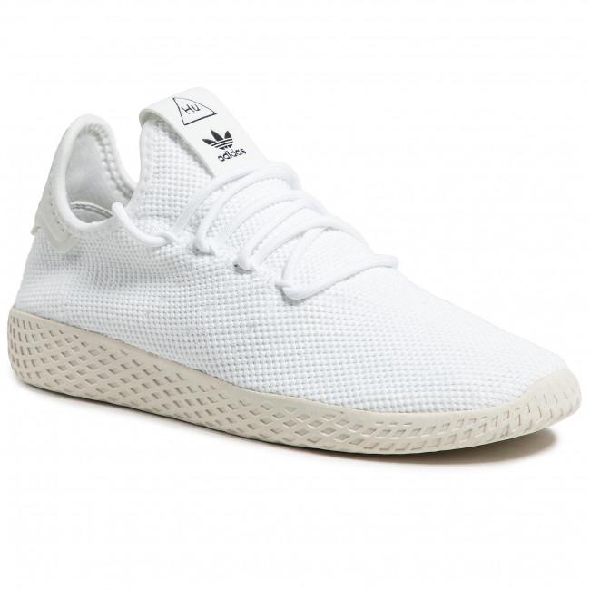 Topánky adidas - Pw Tennis Hu B41792 Ftwwht/Ftwwht/Cwhite