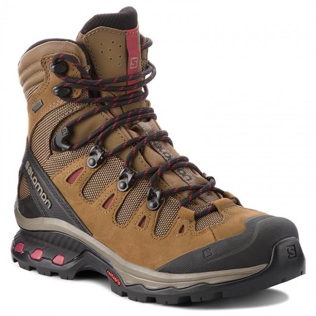 349fd2530a7a6 Trekingová obuv SALOMON - Quest 4D 3 Gtx W GORE-TEX 402458 20 G0 Teak