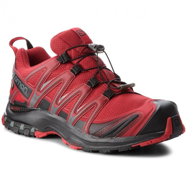 1ca00dff9 Topánky SALOMON - Xa Pro 3D Gtx GORE-TEX 404722 27 V0 Red  Dahlia/Black/Barbados Cherry - Trekingová obuv - Bežecká obuv - Športové -  Pánske - eobuv.sk