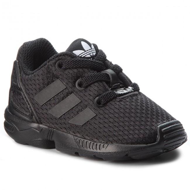 Topánky adidas - Zx Flux El I BB9119 Clack/Cblack/Cblack