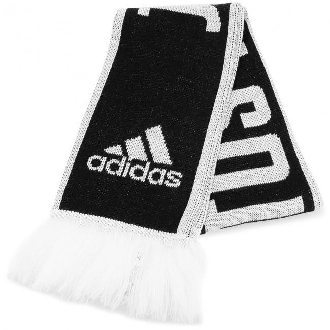 e3c0791e7b6cc Šál adidas - Juve Scarf CY5570 Black/White - Šále - Textil - Doplnky ...