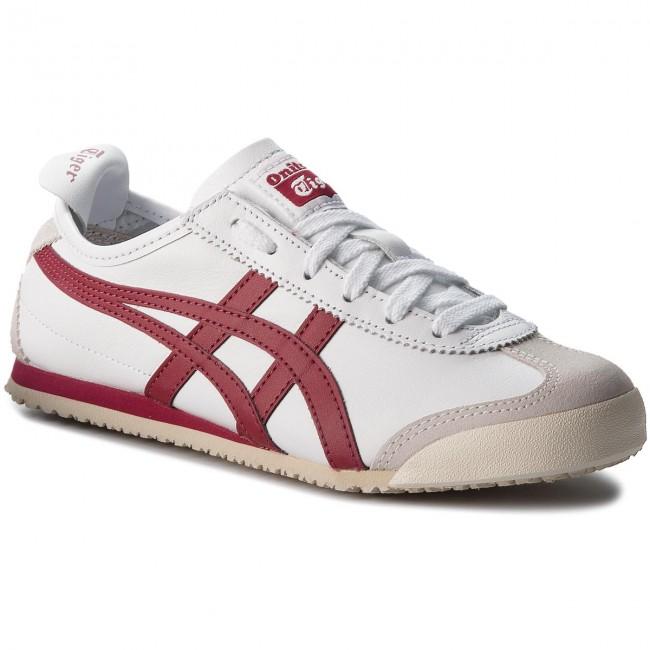 Sneakersy ONITSUKA TIGER - Mexico 66 D4J2L  White/Burgundy 0125