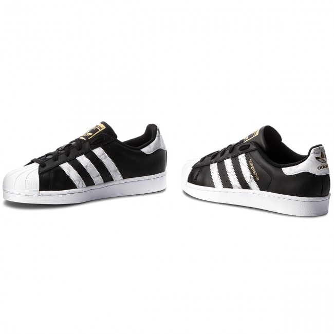 9ae31c193a93d Topánky adidas - Superstar D96800 Cblack/Ftwwht/Gold.F - Sneakersy ...