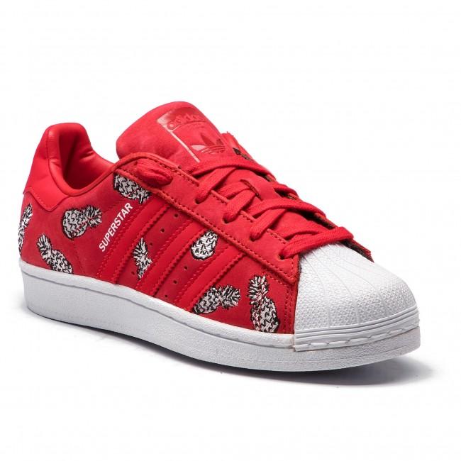 b10555204dde0 Topánky adidas - Superstar W B28040 Scarle/Scarle/Ftwwht - Sneakersy ...