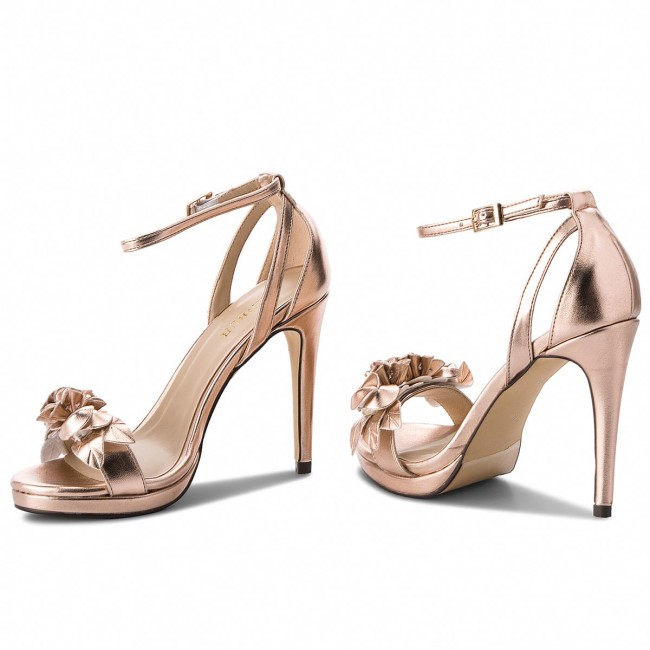 5dd1045df Sandále MENBUR - 09306 Oro Rosa/Even Rose 0038 - Elegantné sandále ...
