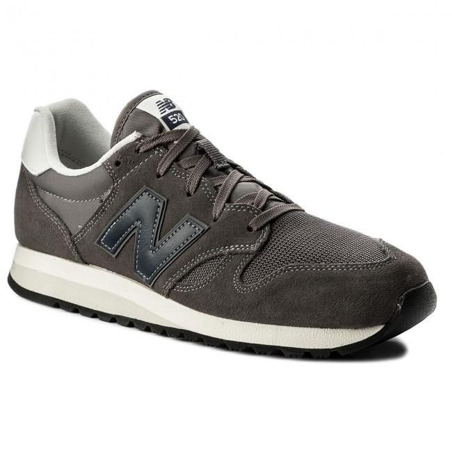 Sneakersy NEW BALANCE - U520CL Sivá