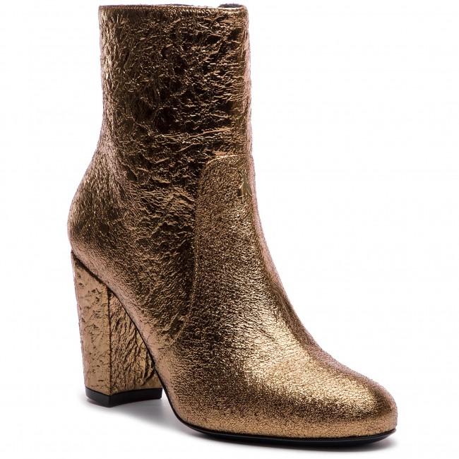Členková obuv PATRIZIA PEPE - 2V8254/A4N5-Y340 Shiny Dark Gold