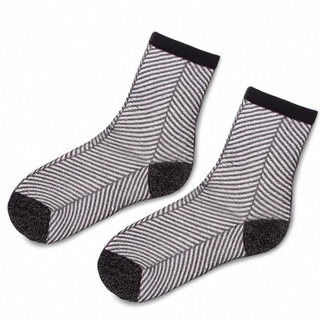 Ponožky Vysoké Dámske TWINSET - Calza OA8T3C  Nero 00006