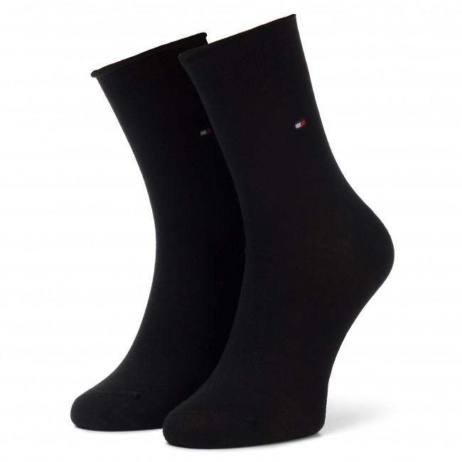 Ponožky Vysoké Dámske TOMMY HILFIGER - 443029001 Black 200