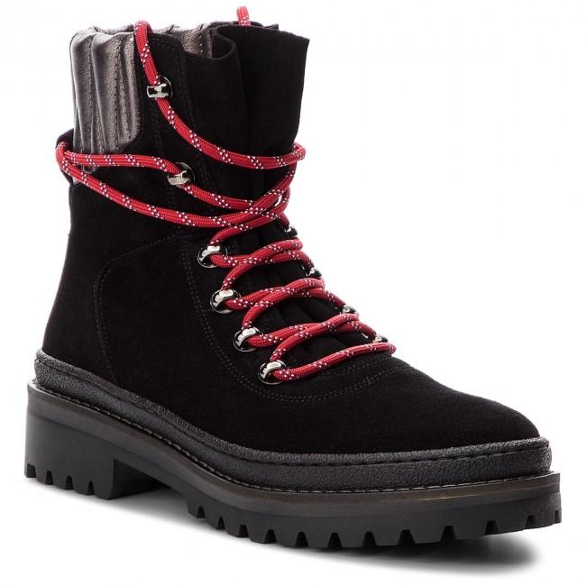 45678830b Outdoorová obuv TOMMY HILFIGER - Modern Hiking Boot S FW0FW03048 Black 990  - Outdoorové topánky - Čižmy a iné - Dámske - eobuv.sk