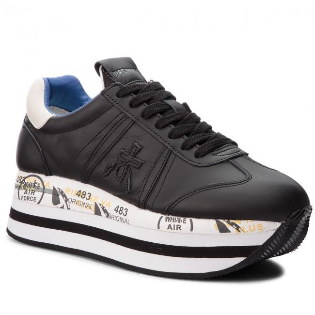 f4aa323071952 Sneakersy PREMIATA - Beth 1072 Čierna - Sneakersy - Poltopánky - Dámske -  eobuv.sk