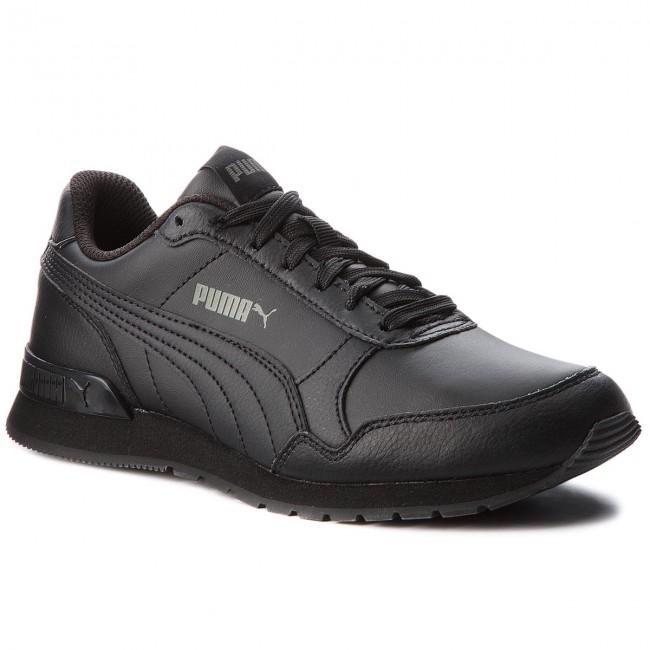 Sneakersy PUMA - St Runner V2 L Jr 366959 01 Puma Black/Dark Shadow