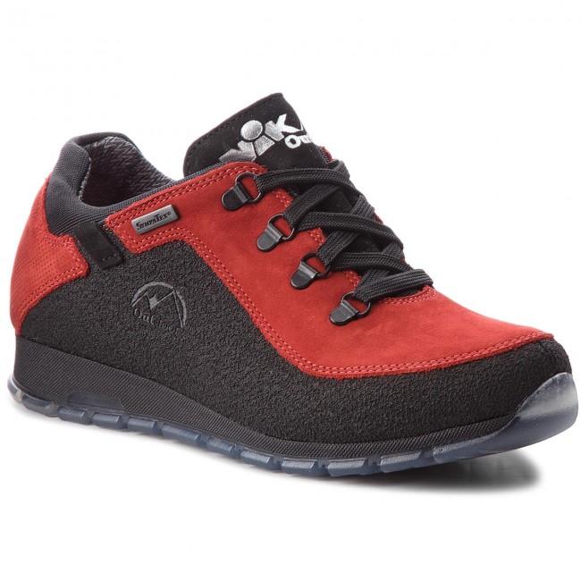 Trekingová obuv NIK - 05-0622-23-3-12-03 Červená