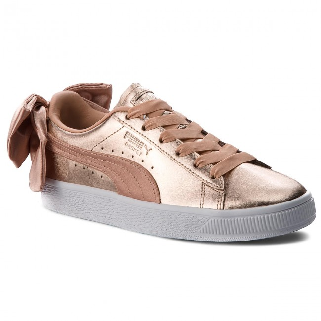 Sneakersy PUMA - Basket Bow Luxe Wn's 367851 01 Dusty Coral/Puma White