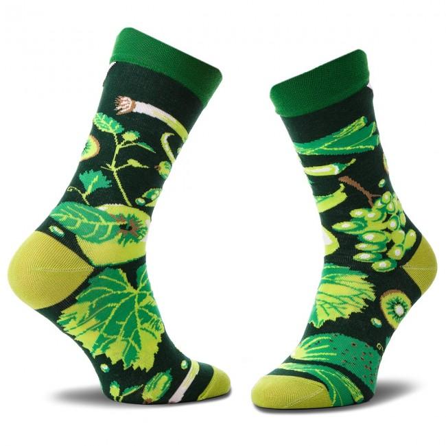 Ponožky Vysoké Unisex CUP OF SOX - Soxy Z Roszponki W Mieszance Z Mrożonki D Zelená