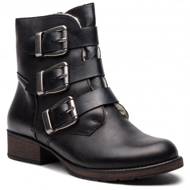 Členková obuv RIEKER - Z9574-01 Schwarz