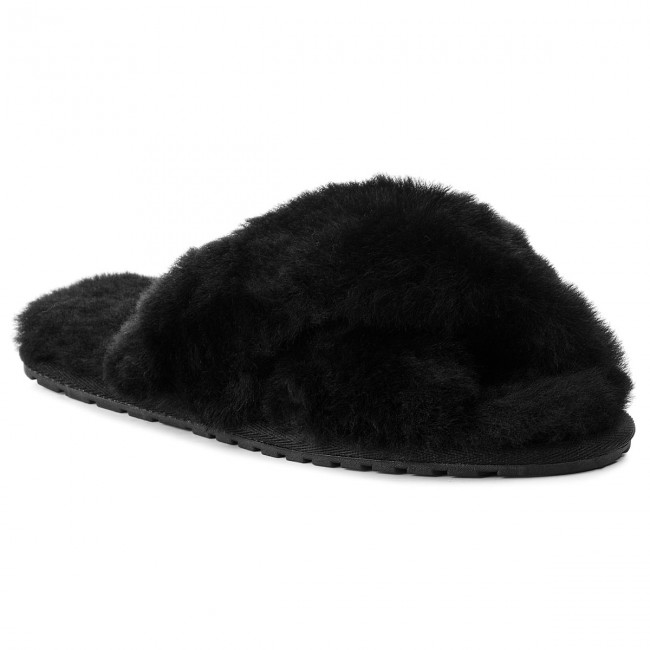 Papuče EMU AUSTRALIA - Mayberry W11573 Black