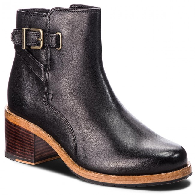 Členková obuv CLARKS - Clarkdale Jax 261359804 Black Leather