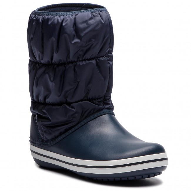 Snehule CROCS - Winter Puff Boot 14614 Navy/White