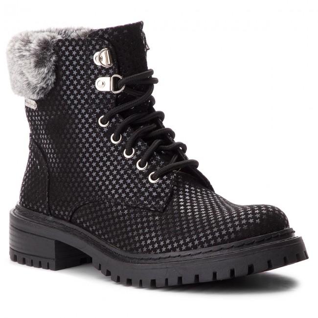 Outdoorová obuv PEPE JEANS - Collie Sky PLS50337 Black 999