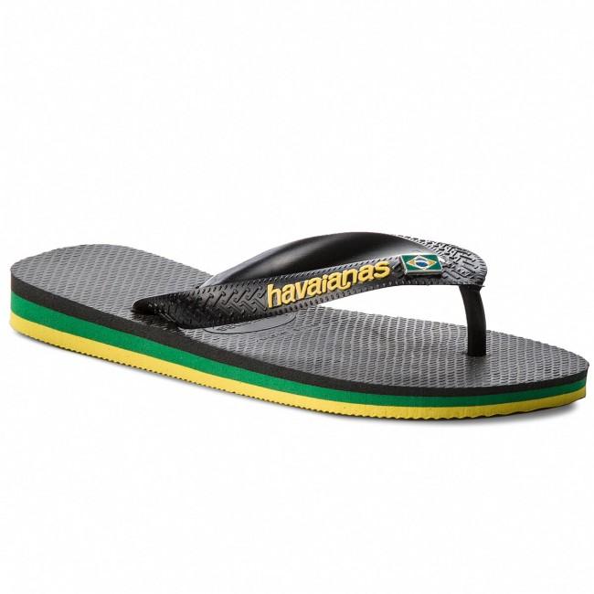 Žabky HAVAIANAS - Brasil Layers Cf 41407150090 Black