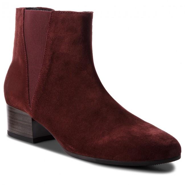 Členková obuv GABOR - 92.812.38 Dark Red (Micro)