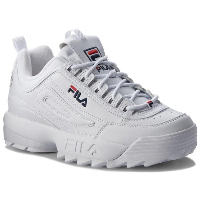 50db138cdfdf3 Sneakersy FILA - Disruptor Low 1010262.1FG White - Sneakersy - Poltopánky -  Pánske - eobuv.sk