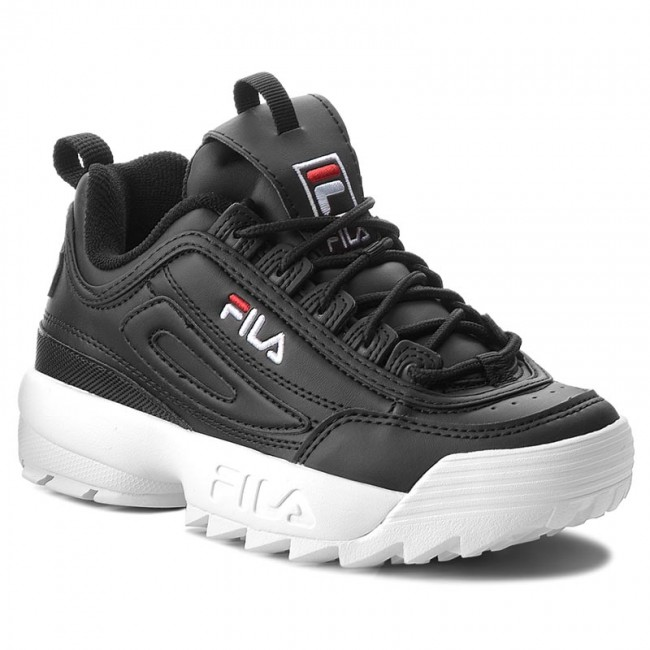 ef7bda3d32a12 Sneakersy FILA - Disruptor Low Wmn 1010302.25Y Black - Sneakersy ...