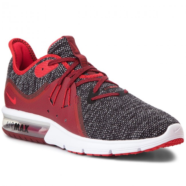 5f3ea81e6d388 Topánky NIKE - Air Max Sequent 3 921694 015 Black/University Red/White