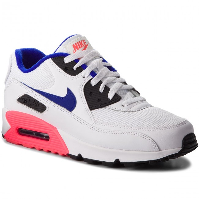 Topánky NIKE Air Max 90 Essential 537384 136 WhiteUltramarineSolar Red
