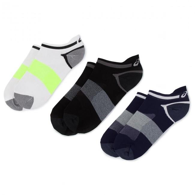 Súprava 3 párov krátkych ponožiek unisex ASICS - Lyte Sock 123458 Peacot 452