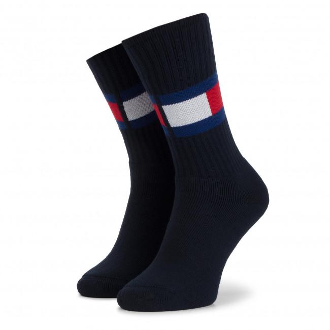 Ponožky Vysoké Unisex TOMMY HILFIGER - 481985001 Dark Navy 322