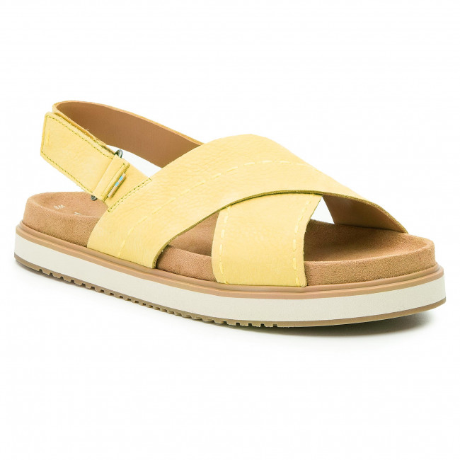 8068fc885a03b Sandále TOMS - Marisa 10013576 Electric Yellow - Sandále na každodenné  nosenie - Sandále - Šľapky a sandále - Dámske - eobuv.sk