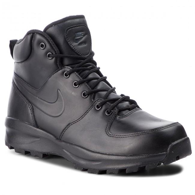 a8bb5c833 Topánky NIKE - Manoa Leather 454350 003 Black/Black/Black - Outdoorové  topánky - Čižmy a iné - Pánske - eobuv.sk