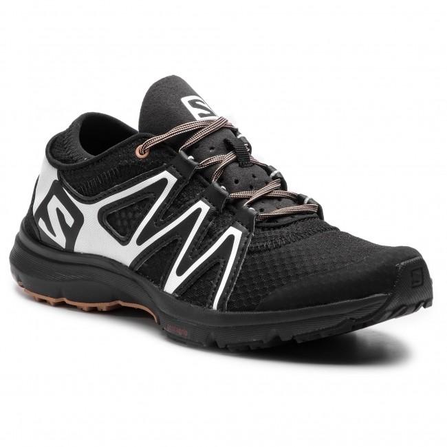 1de00d7390d13 Topánky SALOMON - Crossamphibian Swift 2 W 407471 20 V0 Black/White/Sirocco  - Trekingová obuv - Bežecká obuv - Športové - Dámske - eobuv.sk