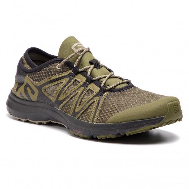 a9c1d2c252a64 Topánky SALOMON - Crossamphibian Swift 2 407474 27 V0 Burnt Olive/Black/Vintage  Kaki - Trekingová obuv - Bežecká obuv - Športové - Pánske - eobuv.sk