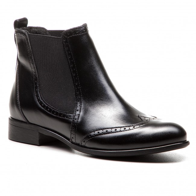 Kotníková obuv s elastickým prvkom BALDACCINI - 1031000 Čierna