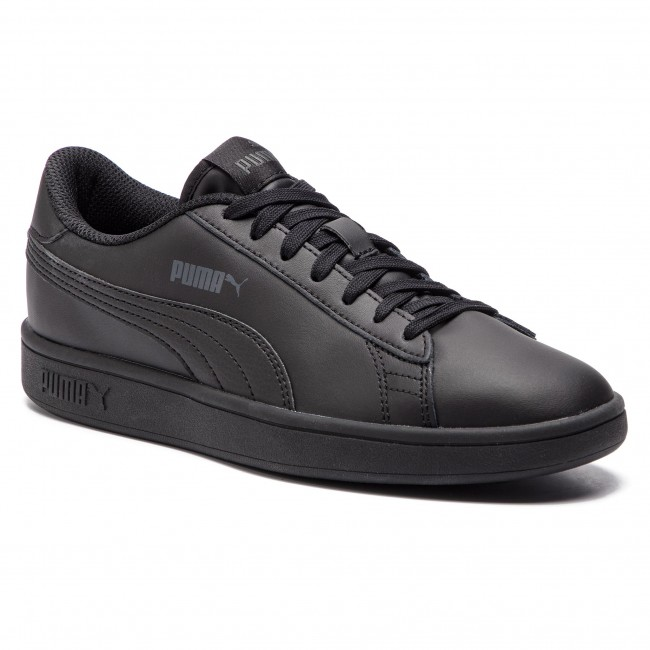 Sneakersy PUMA - Smash V2 L Jr 365170 01 Puma Black/Puma Black