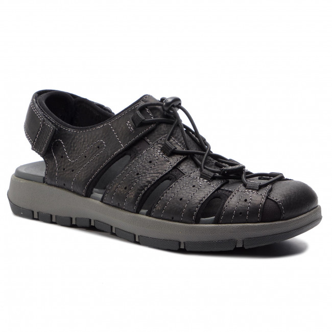 Sandále CLARKS - Brixby Cove 261338917  Black Leather