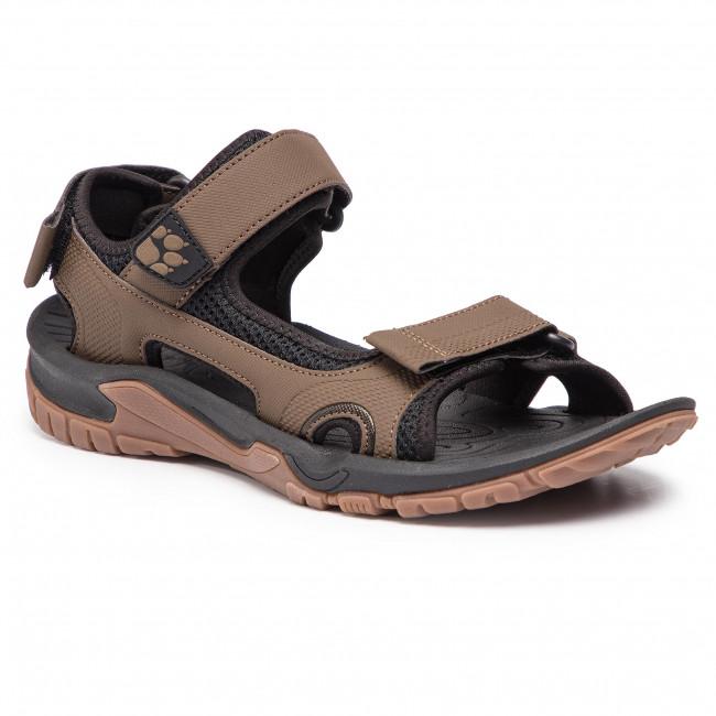 Sandále JACK WOLFSKIN - Lakewood Cruise Sandal M 4019011 Dark Wood