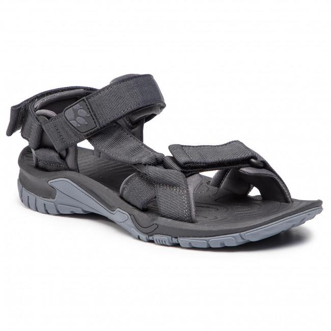 Sandále JACK WOLFSKIN - Lakewood Ride Sandal M 4019021 Ebony